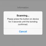 Smart Finder pairing 150x150 Bluetooth Smart Finder iOS App