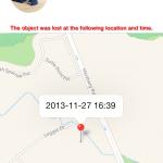 SmartFinder lost record 150x150 Bluetooth Smart Finder iOS App